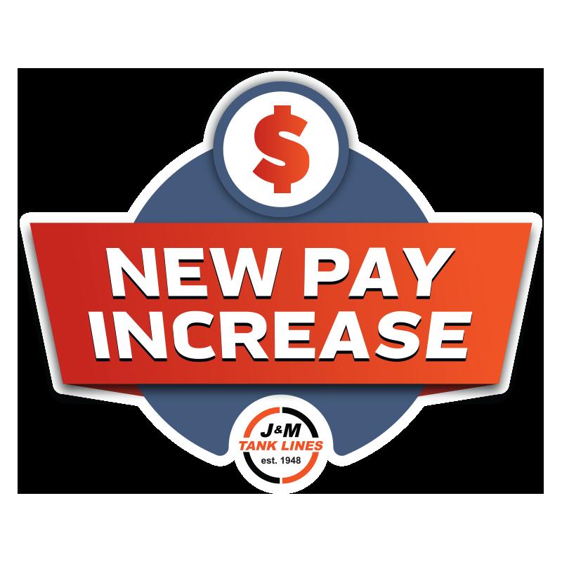New Pay Increase